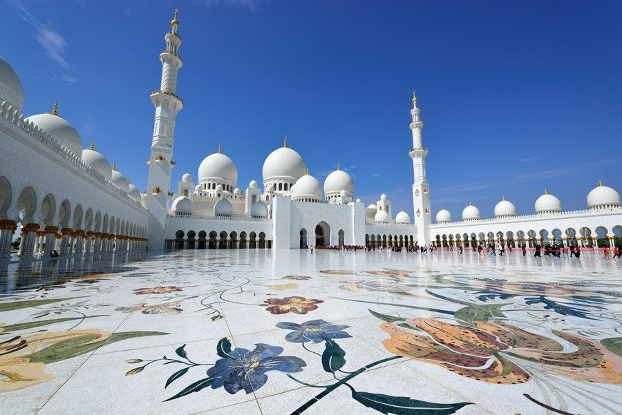 Excursion To The Great Mosque And The Abu Dhabi Louvre