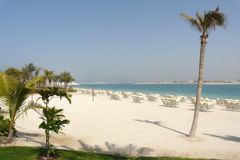 Playa de Dubai en Jumeirah