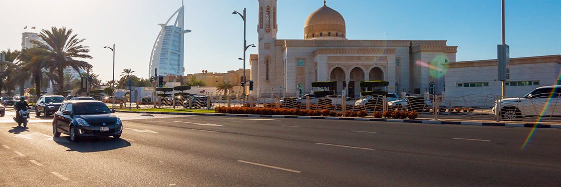 Alugar um carro em Dubai