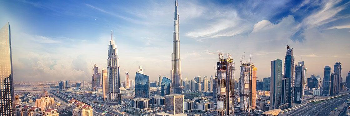 Edifici famosi di Dubai