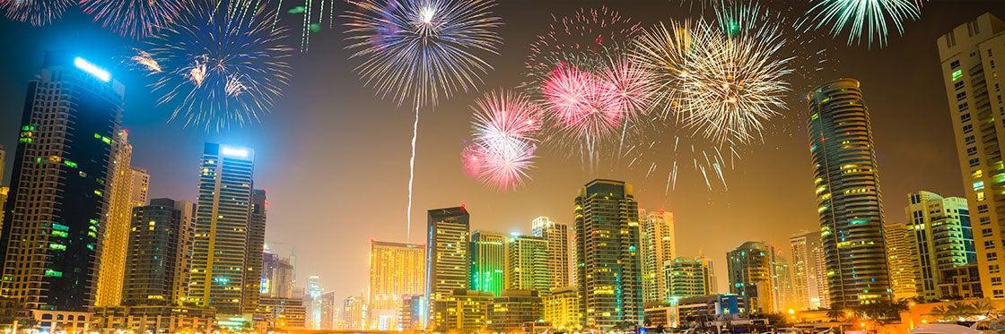 Vida noturna em Dubai