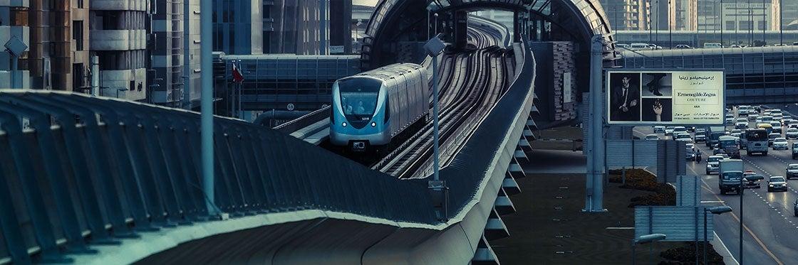 Transporte en Dubái