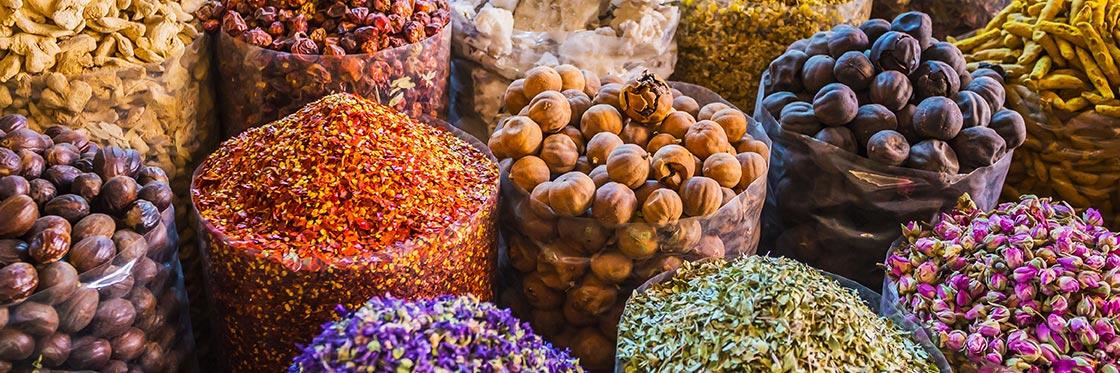 Mercado das Especiarias de Dubai
