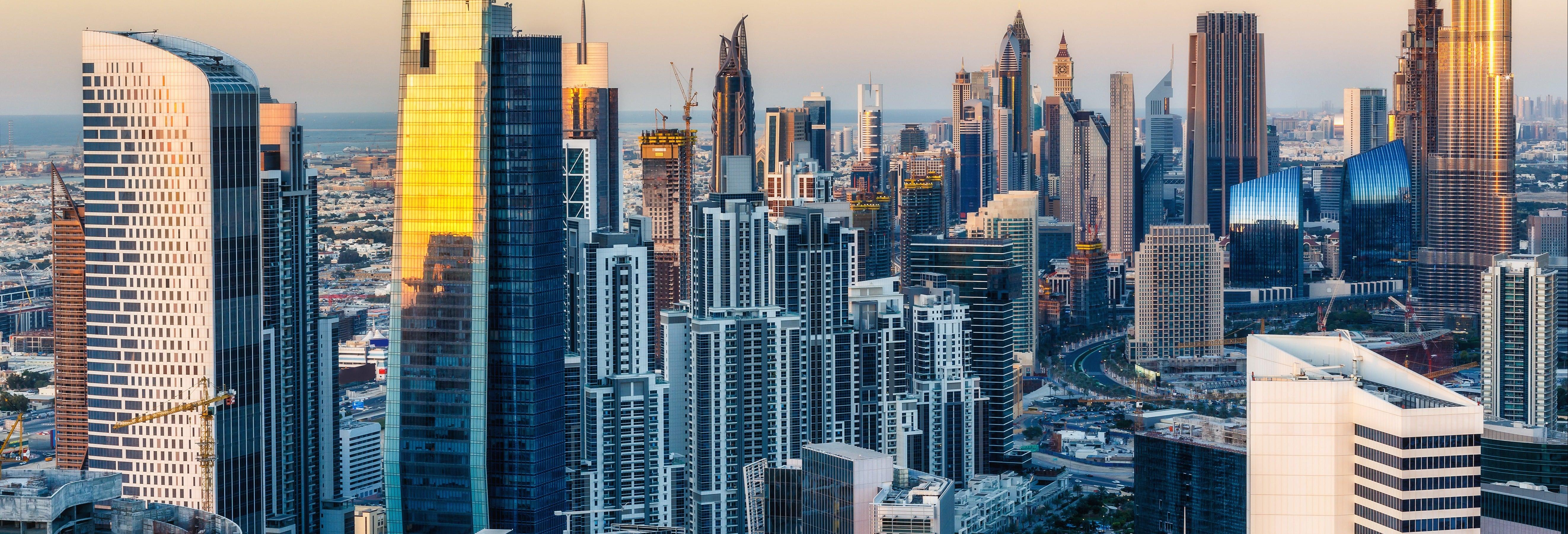 Passeio de hidroavião por Dubai