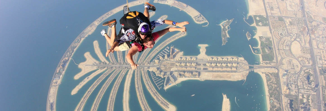 Tandem Skydive in Dubai