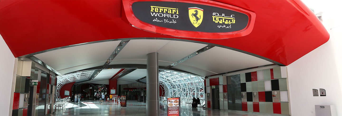 Ferrari World by Seaplane