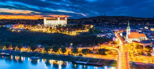 Tour noturno por Bratislava