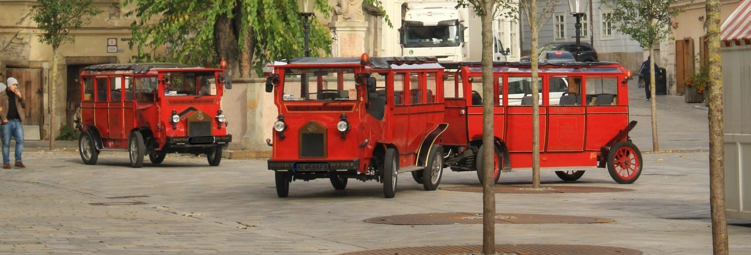 Train touristique de Bratislava