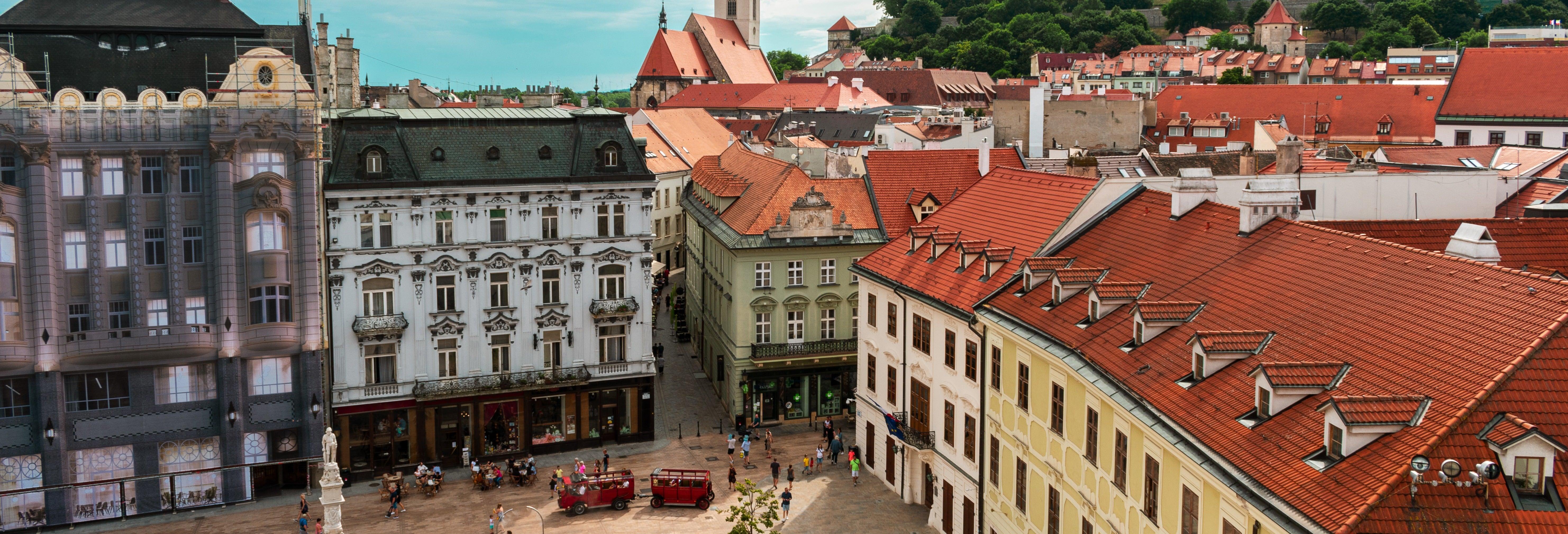 Visita guiada por Bratislava y sus castillos