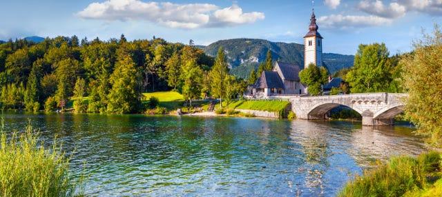 Excursion à Bled et Bohinj