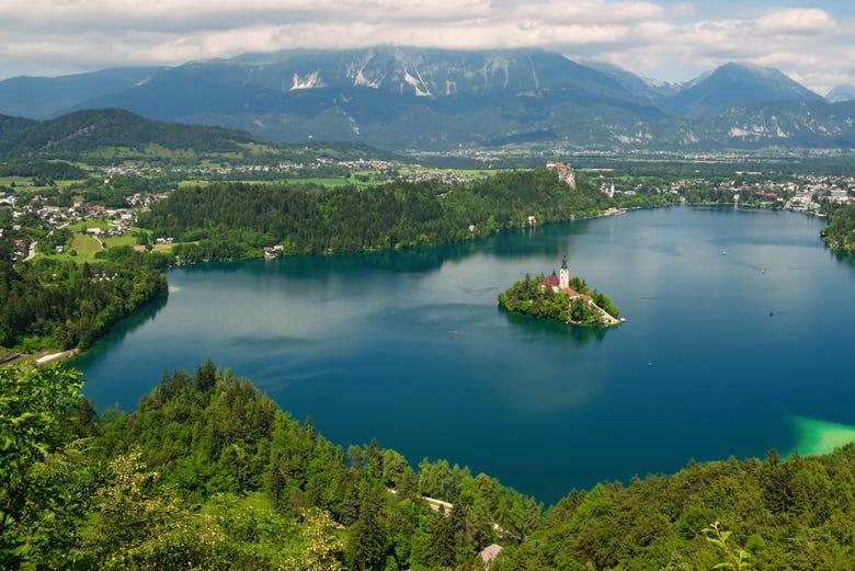 ,Excursión a Lago de Bled