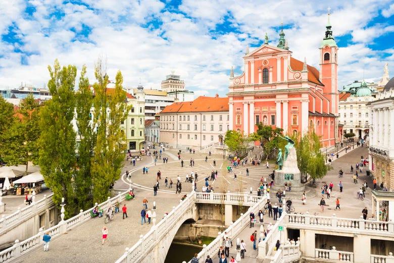,Tour por Liubliana