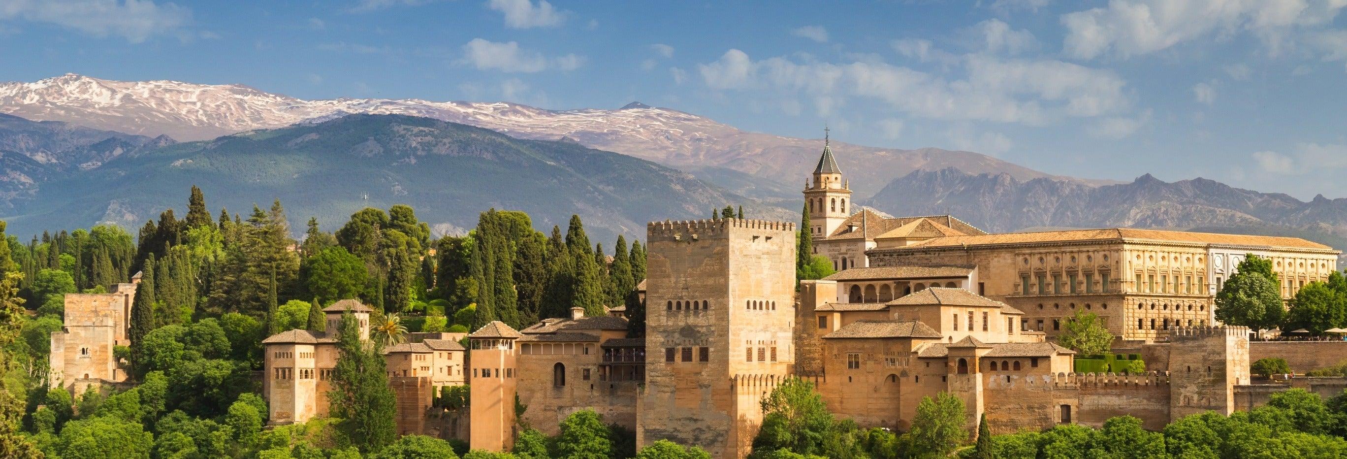 Escursione a Granada con visita dell'Alhambra