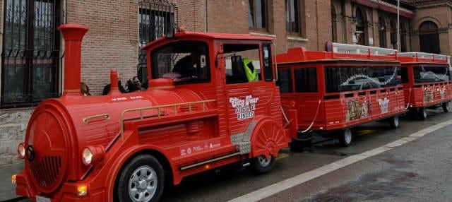 Tren turístico de Alcalá de Henares