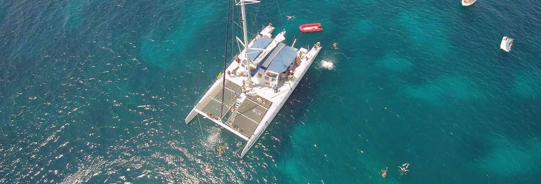 Fête sur un bateau à Alicante