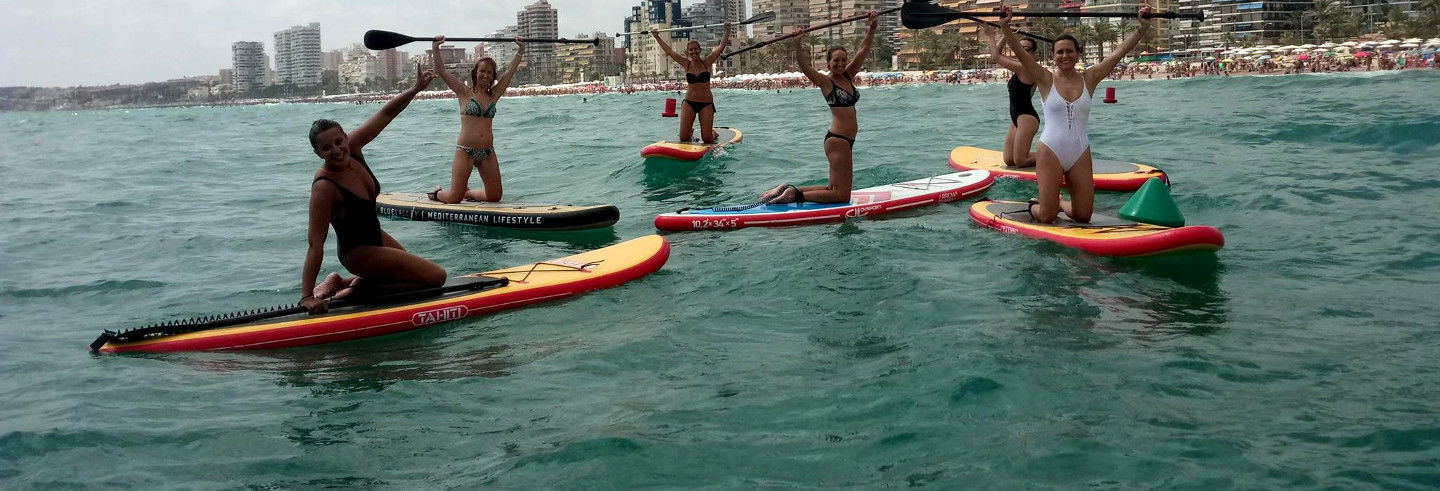 Tour en paddle surf por Playa de San Juan