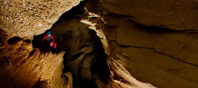 Espeleología en las Cuevas de Sorbas