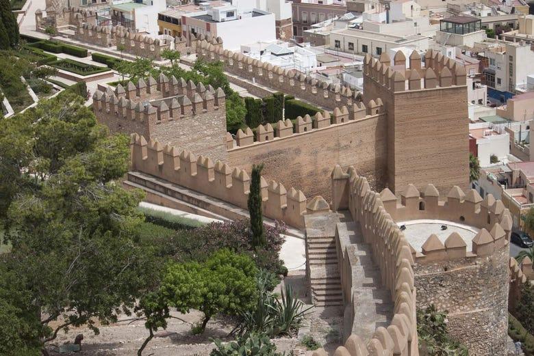 Visite guidée de l'Alcazaba