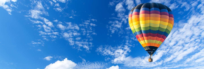 Paseo en globo por Aranda de Duero