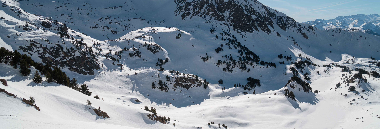 Paseo con raquetas de nieve por Baqueira Beret