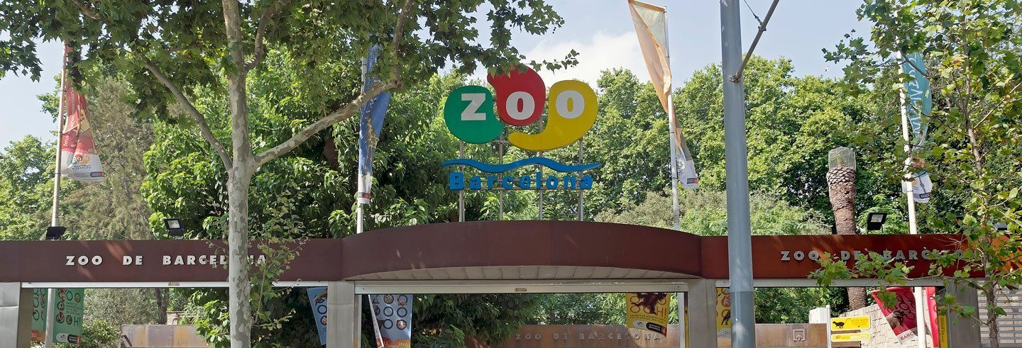 Ingresso do Zoo de Barcelona