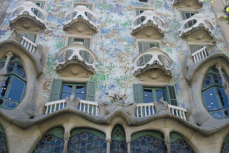 Billet pour la Casa Batlló
