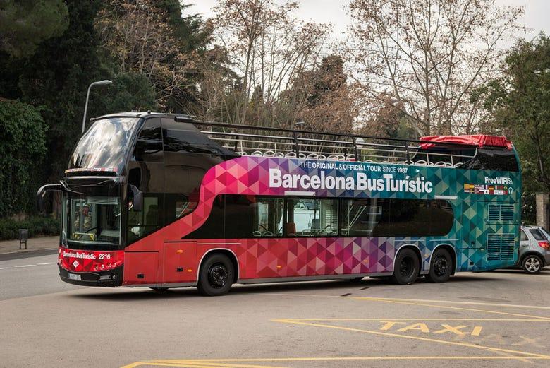 autob s tur stico de barcelona reserva online en On autobus turistico barcelona