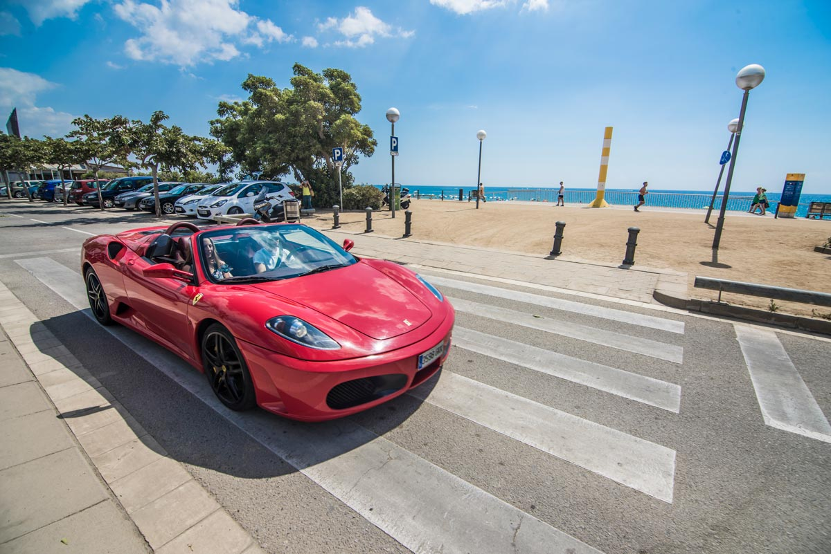 Discovering Barcelona In A Sports Car