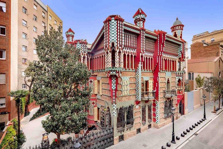 Billet pour la Casa Vicens