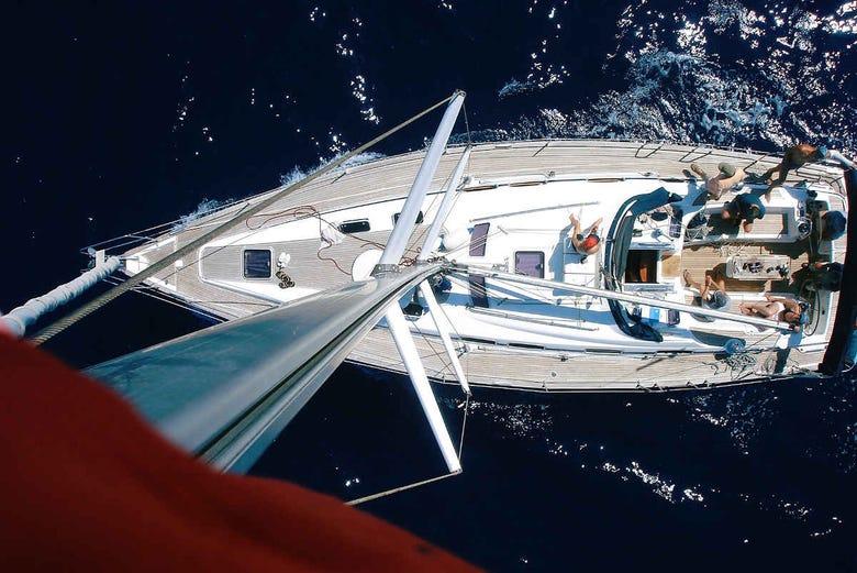 Location d'un bateau privé avec skipper