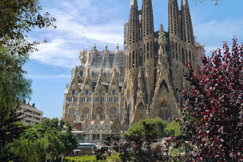 Sagrada Familia avec visite des tours