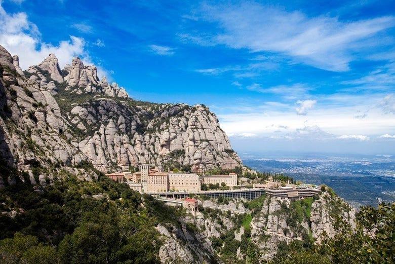 ,Sagrada Familia,Monasterio Montserrat,Montserrat Monastery,Sagrada Familia
