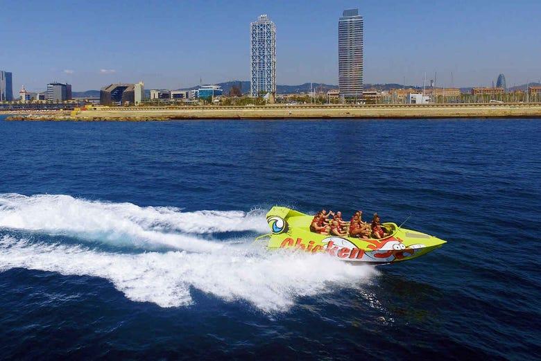 Expérience Jet Boat à Barcelone