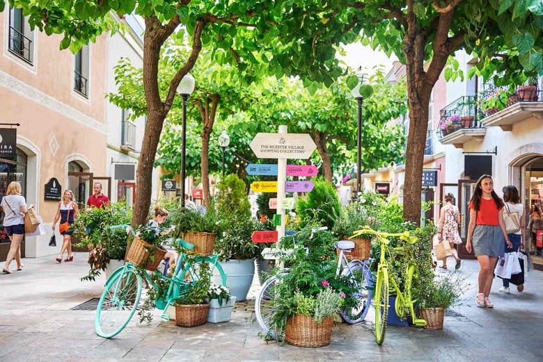 Excursion shopping à La Roca Village