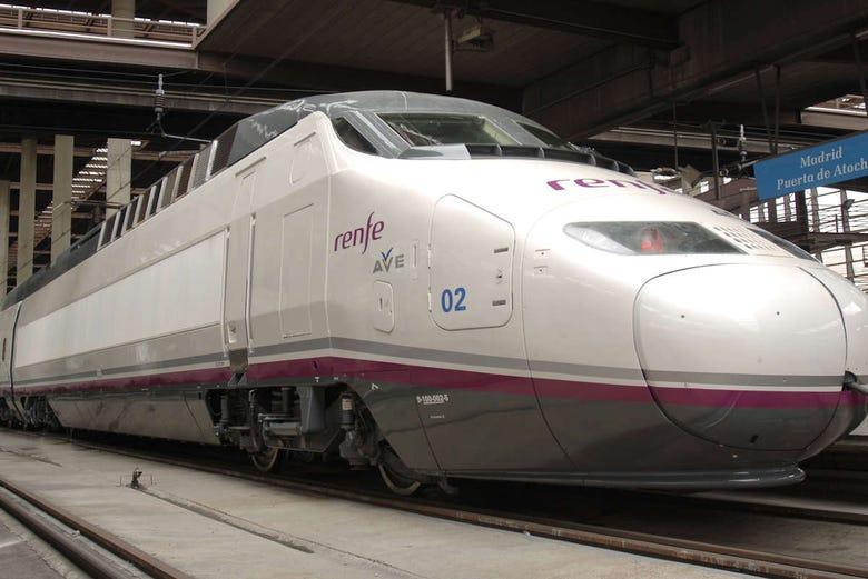 Excursion libre à Madrid en TGV