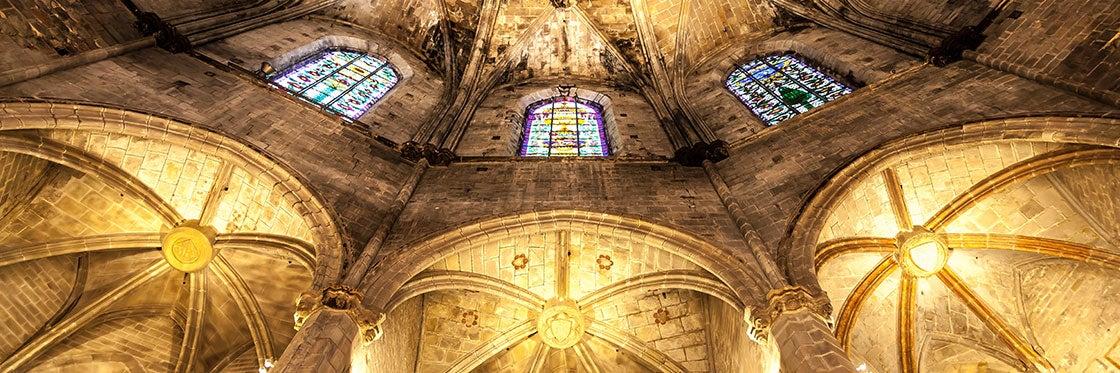 Basílica Santa Maria del Mar in Barcelona