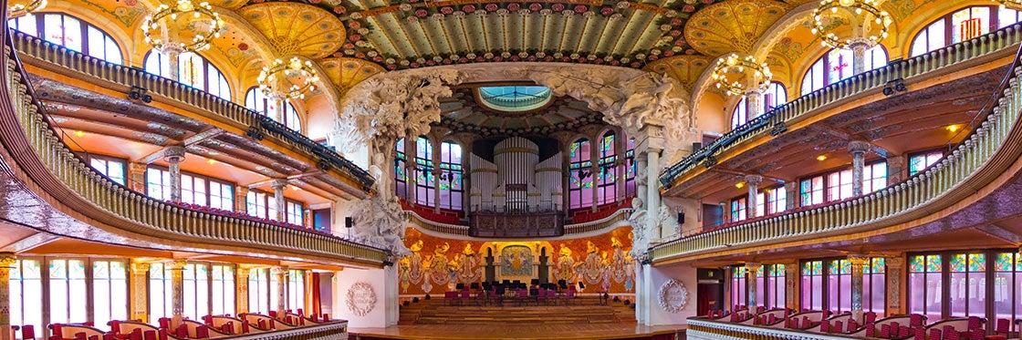Resultado de imagen de Palacio de la Musica Catalana