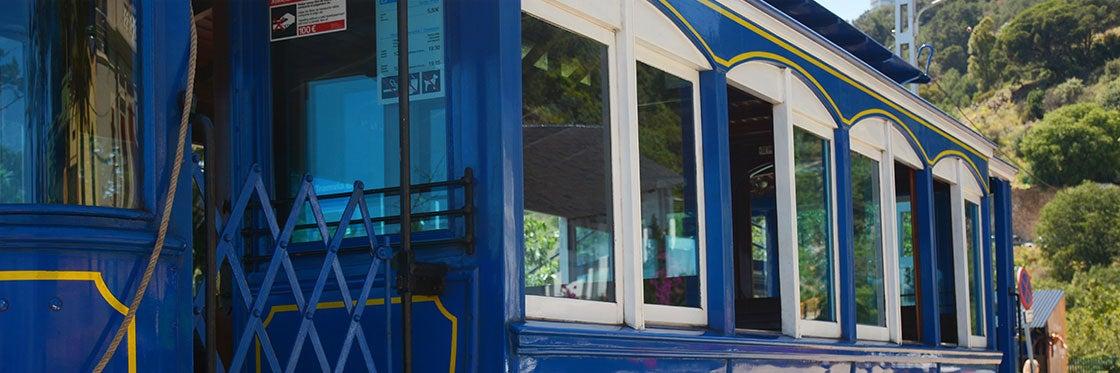 Barcelona Blue Tram