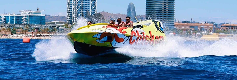 Esperienza in Jet Boat a Barcellona