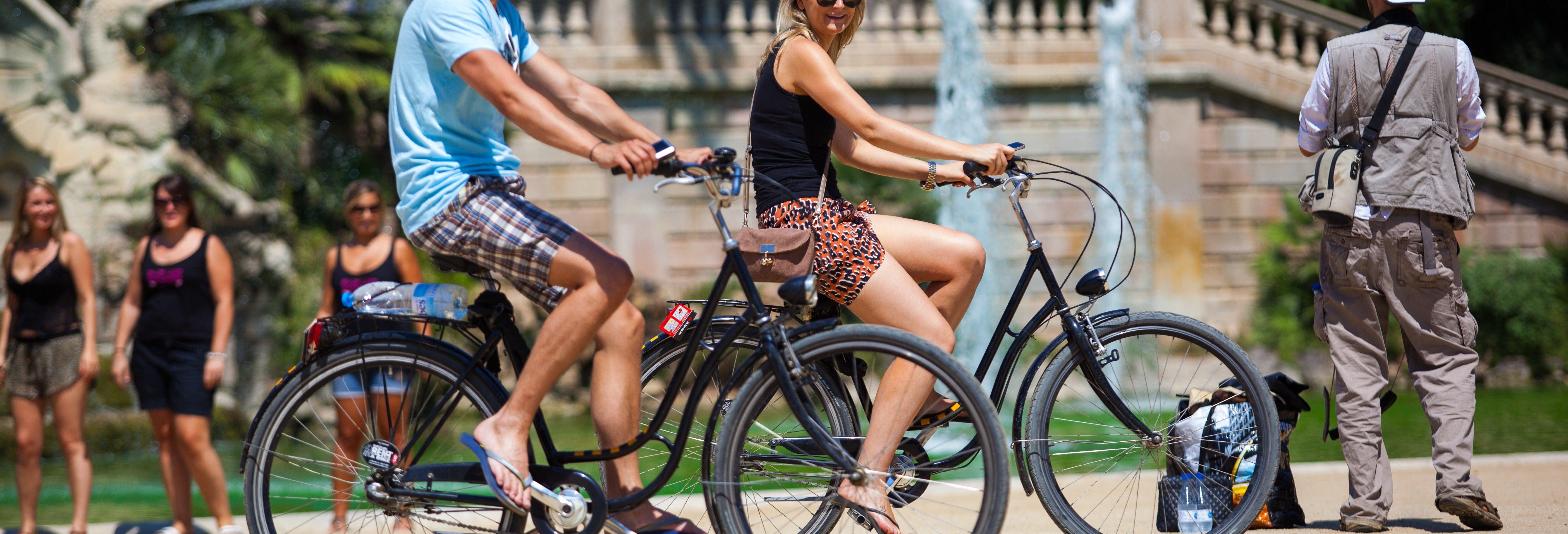 Tour en bicicleta eléctrica por Barcelona