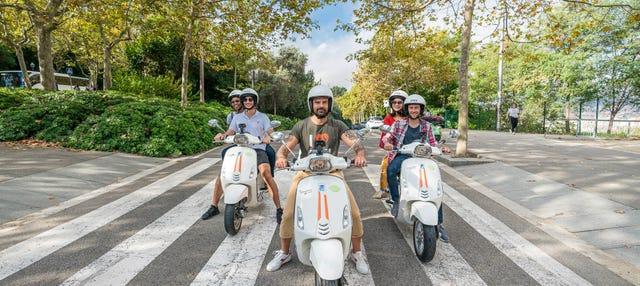 Tour in Vespa a Barcellona