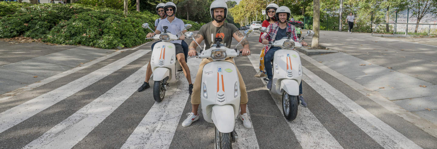 Tour in Vespa a Barcellona