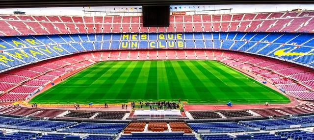 Visita guiada por el Camp Nou
