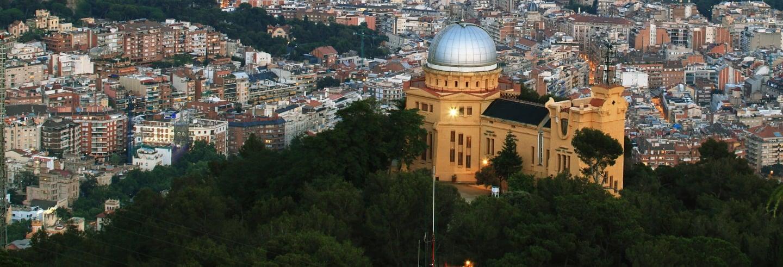 Visita guiada por el observatorio astronómico Fabra