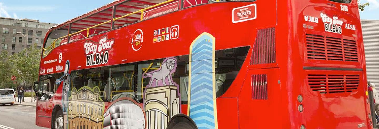 Autobus turistico di Bilbao
