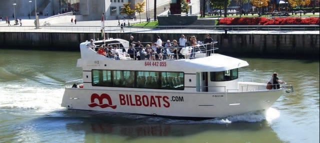 Paseo en barco por Bilbao
