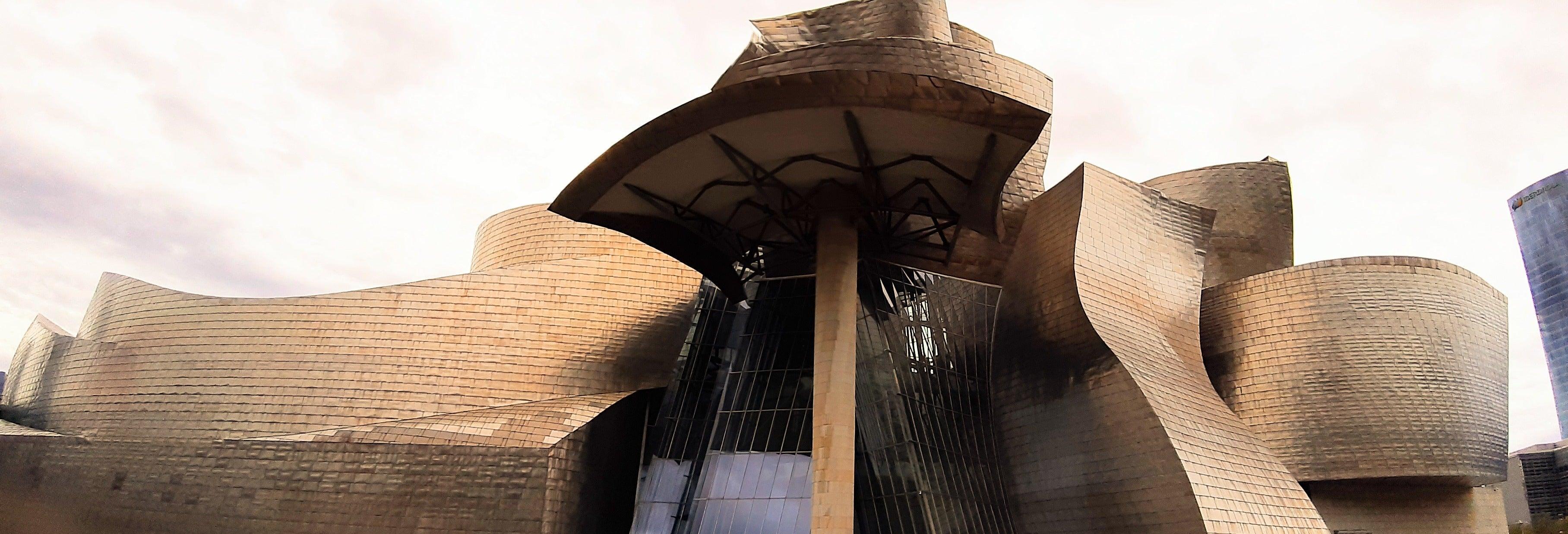Visita guiada pelo Museu Guggenheim Bilbao