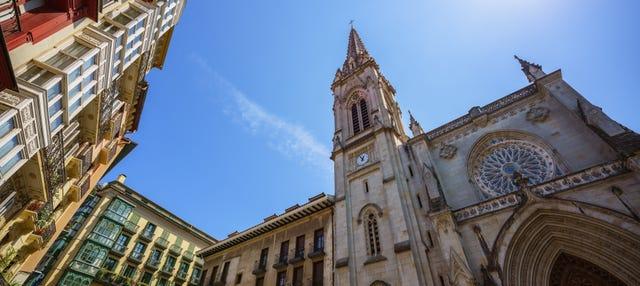 Visita guiada por Bilbao y la catedral de Santiago
