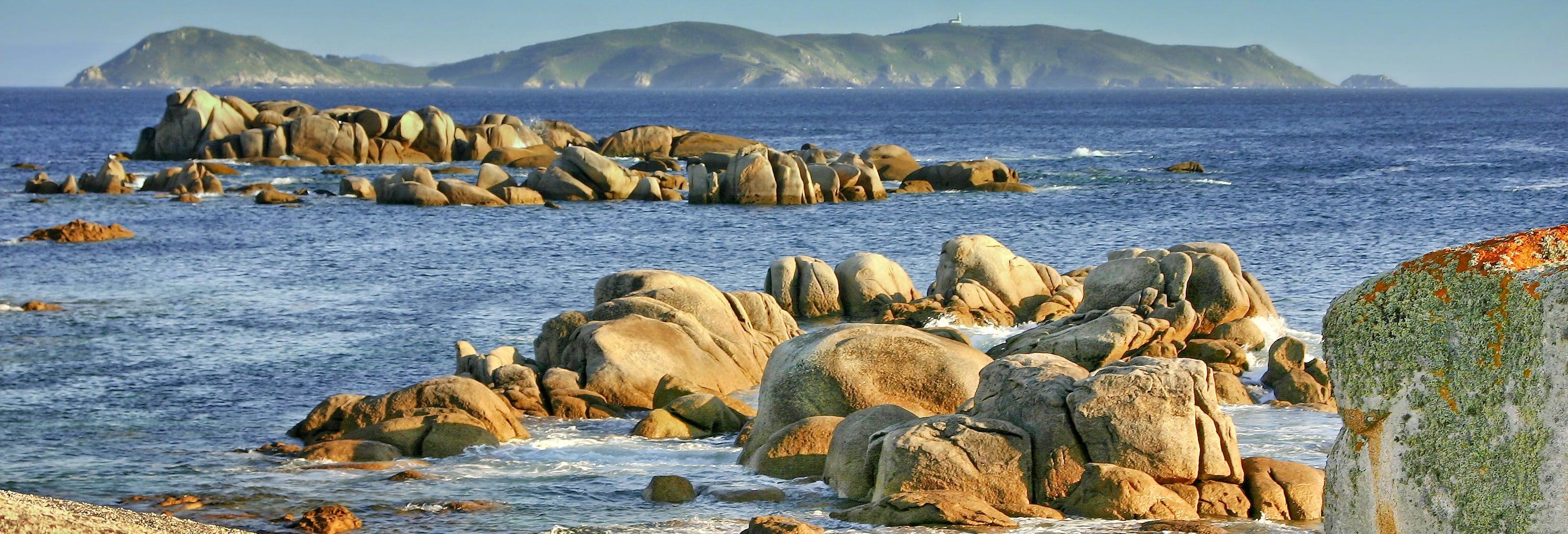 Barco a la isla de Ons
