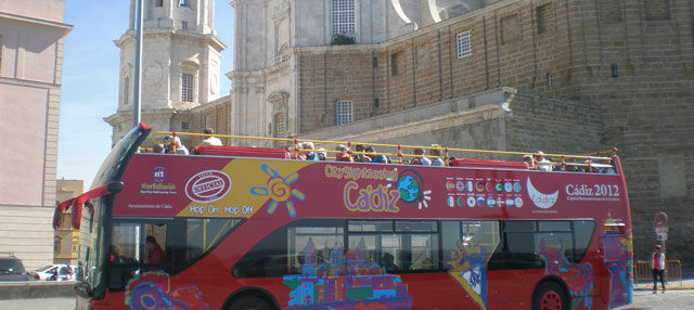 Autobús turístico de Cádiz